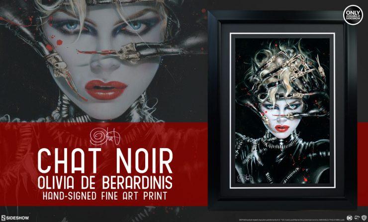 Chat Noir Fine Art Print
