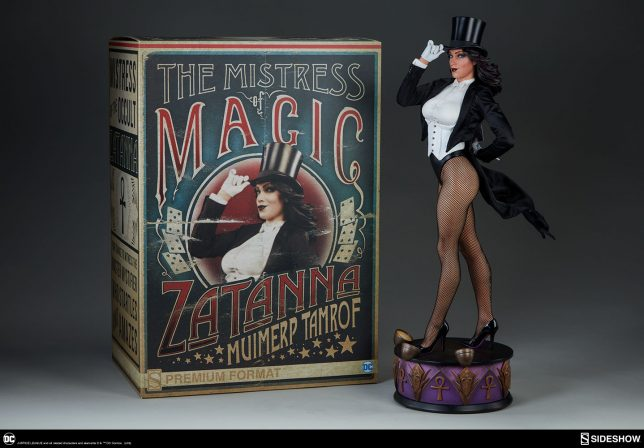 Check out the New Photos of the Zatanna Premium Format Figure!