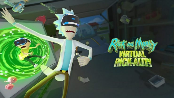 Virtual Rick-Ality VR Game Gets Release Date