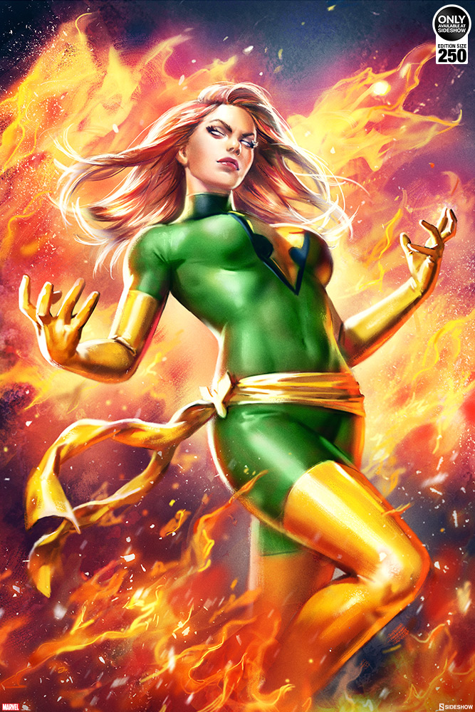 Host the Fiery Phoenix with the new Phoenix: Jean Grey Variant ...