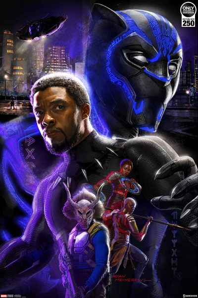 Black Panther Fine Art Print by Ryan Meinerding