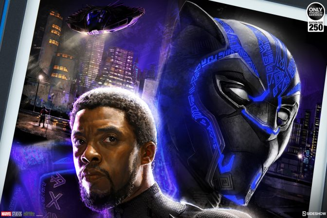 Enter the World of Wakanda with the Black Panther Fine Art Print by Ryan Meinerding!