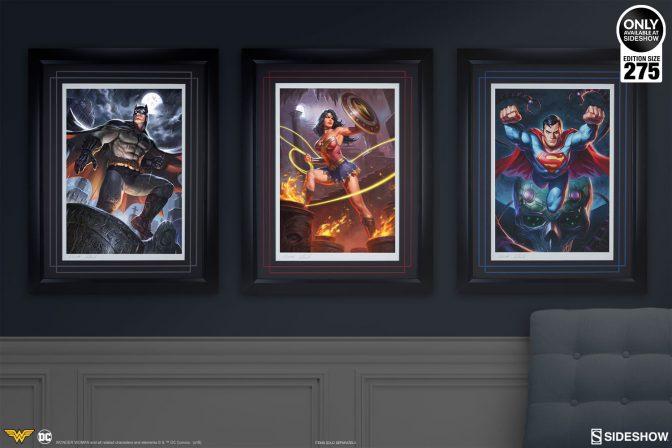 Wonder Woman Premium Art Print by Alex Pascenko and Ian MacDonald