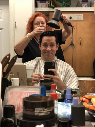 Zachary Levi Shows Off Shazam Haircut