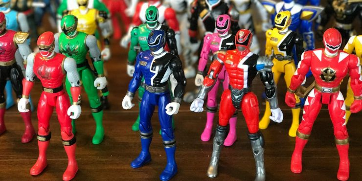 Hasbro Gets Power Rangers Toy Rights