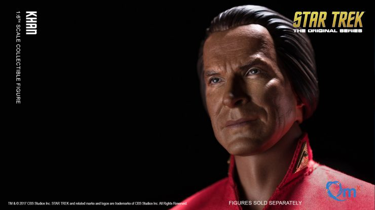 The Khan Sixth Scale Figure from QMX Arrives to Take Command of the Enterprise