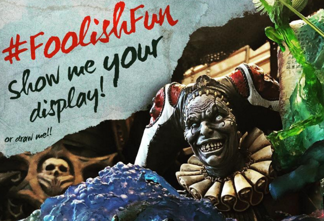 Have #FoolishFun and Enter to Win With Court of the Dead on Instagram!