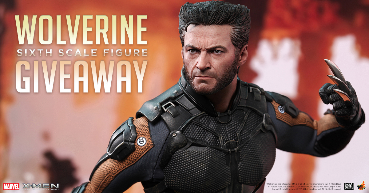 Hot Toys Wolverine Sixth Scale Figure Giveaway | Sideshow