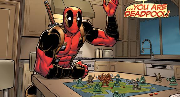 Choose Your Own Deadpool Adventure