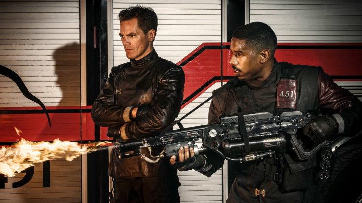 First Trailer for HBO's Fahrenheit 451