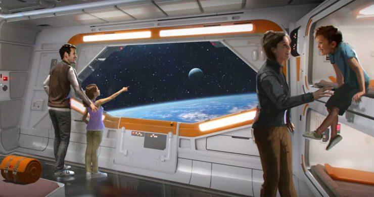 Walt Disney World Reveals New Star Wars Resort Concept Art