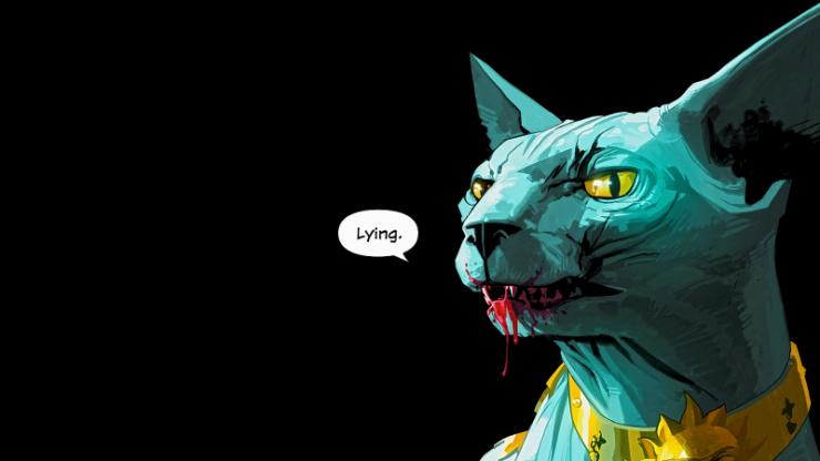 Saga- Lying Cat