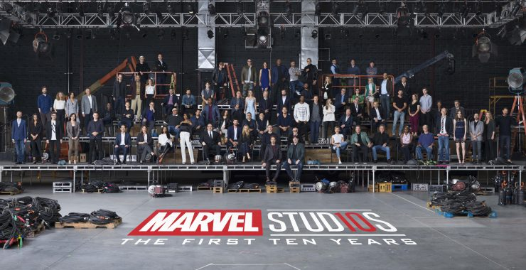 "Marvel Unites 10 Years of Cinematic Universe Stars for MCU ""Class Photo"""