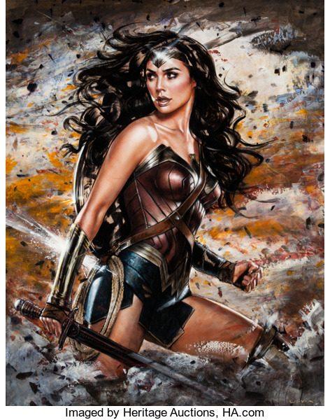 Gal Gadot as Wonder Woman by Olivia De Berardinis