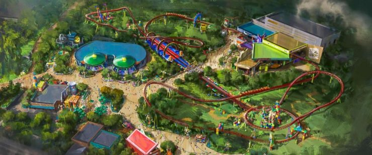 Toy Story Land Opens June 2018