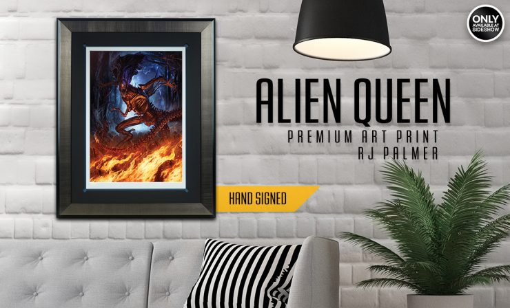 Alien Queen Premium Art Print