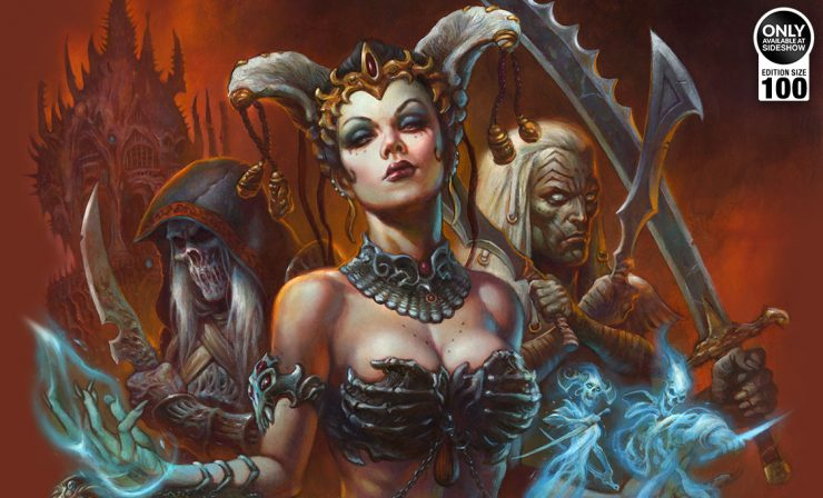 Alex Horley Court of the Dead Art Print Collection
