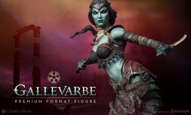 Gallevarbe: Eyes of the Queen Premium Format™ Figure