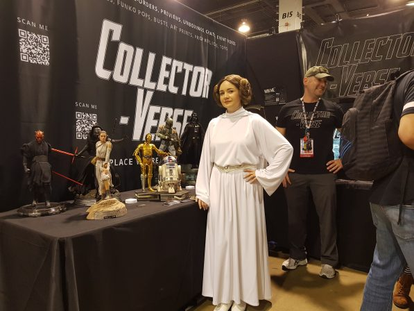 See Cosplayers and Collectibles from the Collector-Verse Booth at Wondercon 2018!