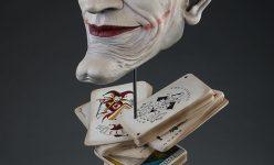 Joker Face of Insanity Bust