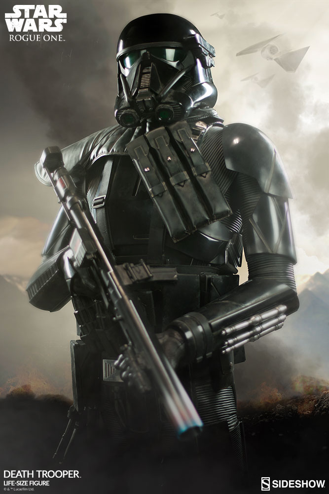 Deploy The Death Trooper Life Size Figure In Your Star Wars Collection Sideshow Collectibles