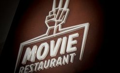 The Movie Restaurant in Rome, Italy