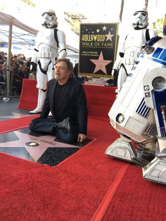 Mark Hamill Honored with a Hollywood Star on #JediDay