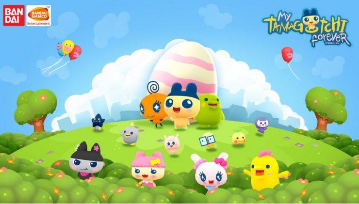 Bandai Namco Announces My Tamagotchi Forever Mobile App