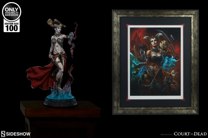 Pledge Your Unwavering Loyalty to the Impermanence of Flesh Premium Art Print by Alex Horley