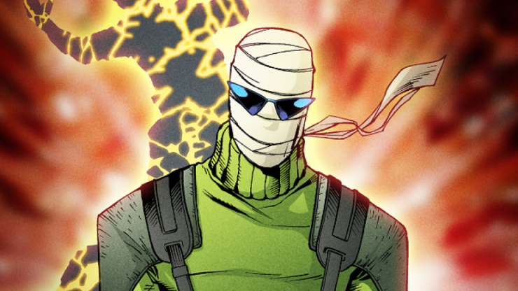 Titan TV Show Casts Doom Patrol's Negative Man