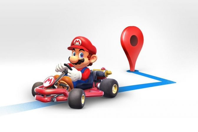 Celebrate Mario Day in Google Maps