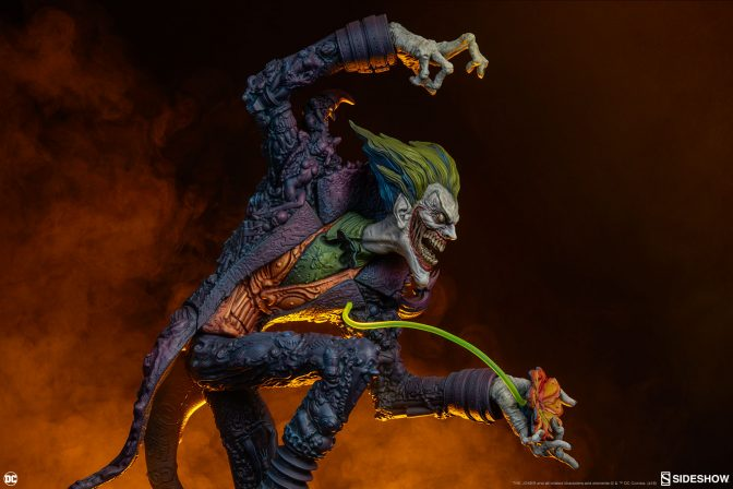 The Joker Statue Joins the Gotham City Nightmare Collection!