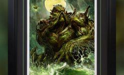 Swamp Thing Premium Art Print by Dave Wilkins