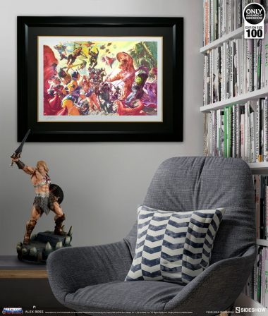 Masters of the Universe Fine Art Lithograph