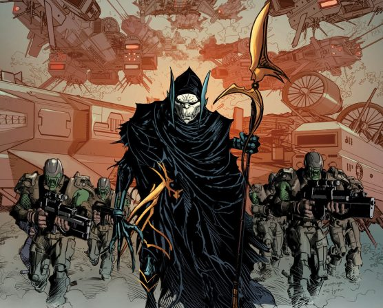 Who are the Black Order- Corvus Glaive