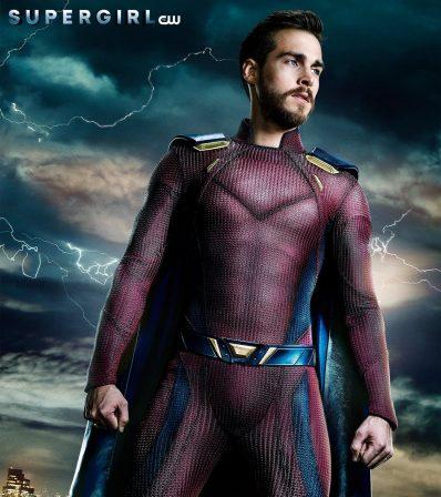 CW Reveals Mon-El's Comic Book Costume