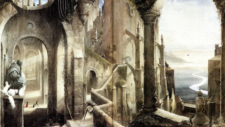 Neil Gaiman to Adapt Gormenghast Books for Television