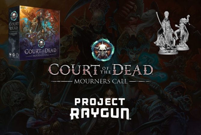 Project Raygun Releases Court of the Dead Tabletop Game Trailer Ahead of April Kickstarter Launch
