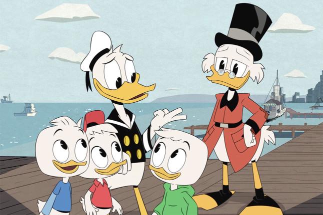 Lin-Manuel Miranda DuckTales Premiere Set