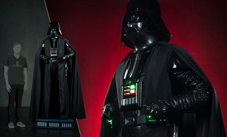 New Photos of the Darth Vader Life Size figure are here!