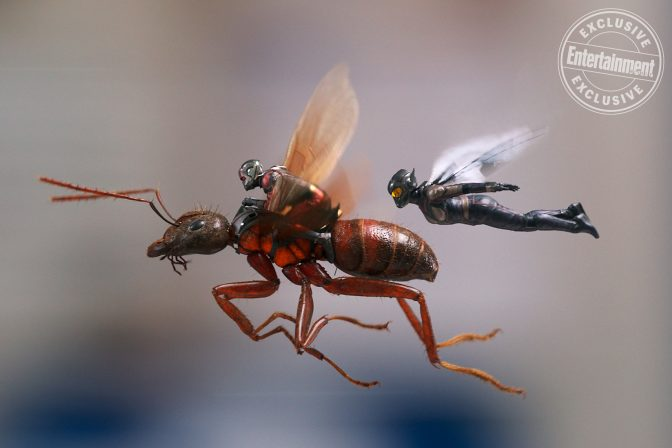Entertainment Weekly Reveals Exclusive Ant-Man Sequel Art