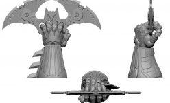 Batman Premium Format™ Figure sculpt