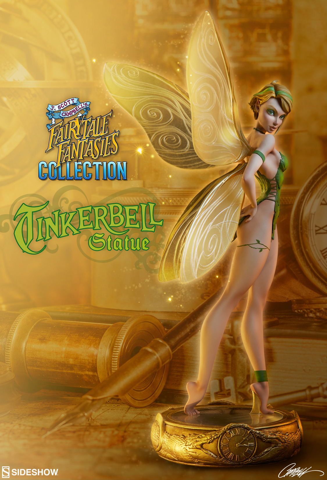 Tinkerbell Statue - J. Scott Campbell's Fairytale ...