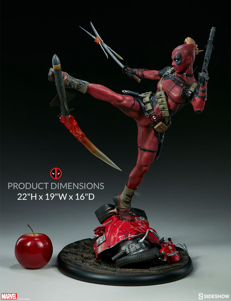 da9600235d2 New photos of Lady Deadpool are blasting through Sideshow ...