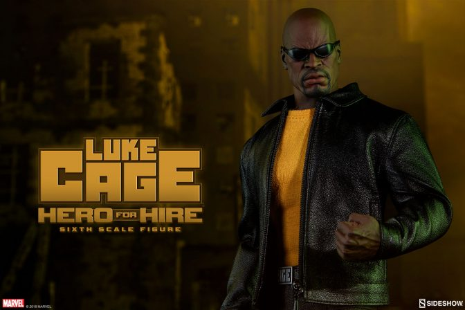 Let the Luke Cage Sixth Scale Figure be Your Hero for Hire