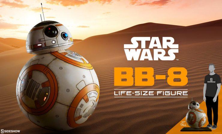BB-8 Life Size Figure
