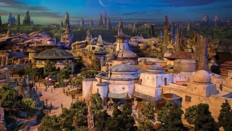 Disney Announces Star Wars Land Opening Dates