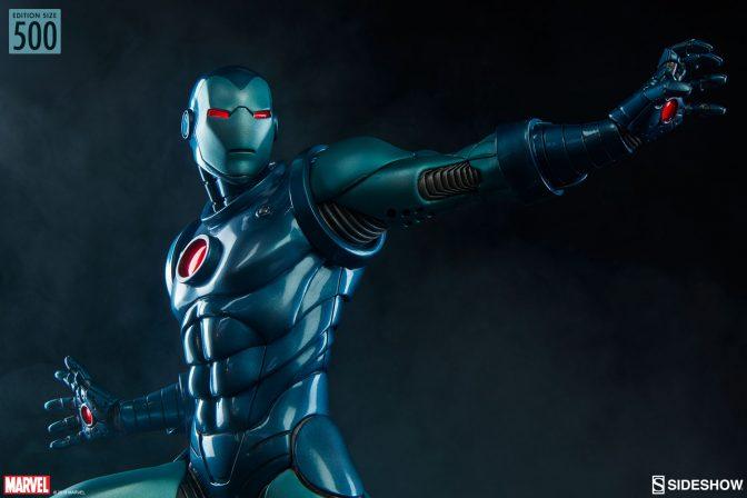 The Iron Man Stealth Suit Statue Arrives- Avengers Assemble