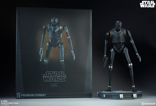 Check out new photos of the K-2SO Premium Format Figure