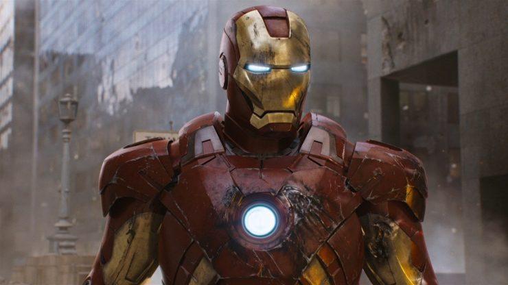 MCU Iron Man Then & Now